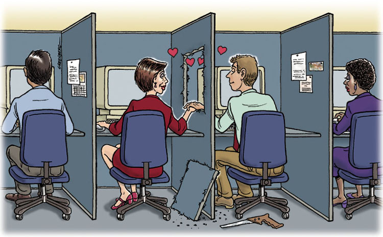 workplace dating relationships By anna a cohen as the holiday season and the new year approach, many people are either looking for love or ending relationships many relationships begin and end in the workplace.